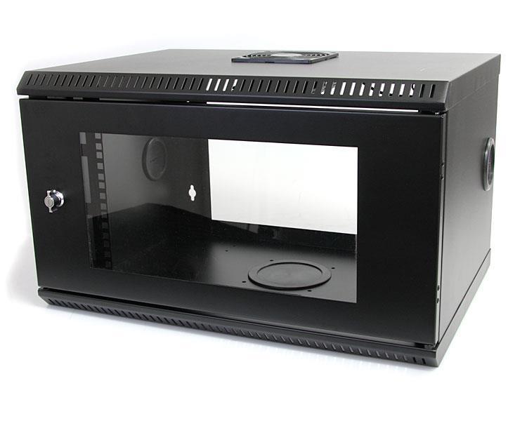 Startech Com 6u 19in Wallmount Server Rack Cabinet With