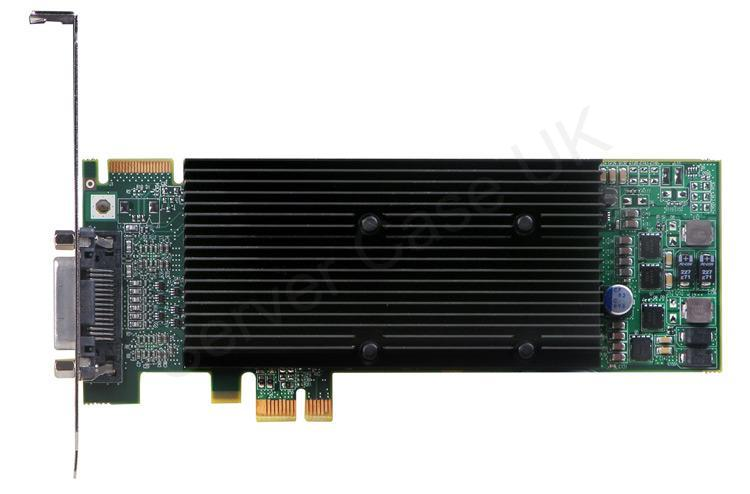 Matrox M9120 Plus 512MB PCIe x1 DVI/Analog Graphics Card (Low Profile)