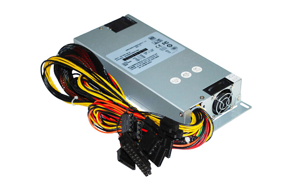 Single 1U 600W 80 plus PSU