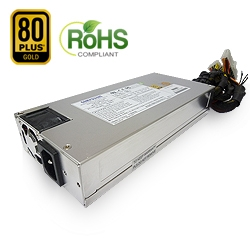 1U 350W Single 80+Gold PSU
