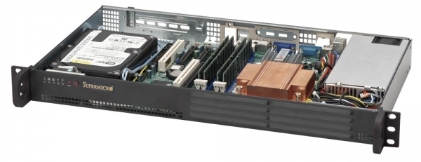 Supermicro SuperChassis 502-200B (Black)