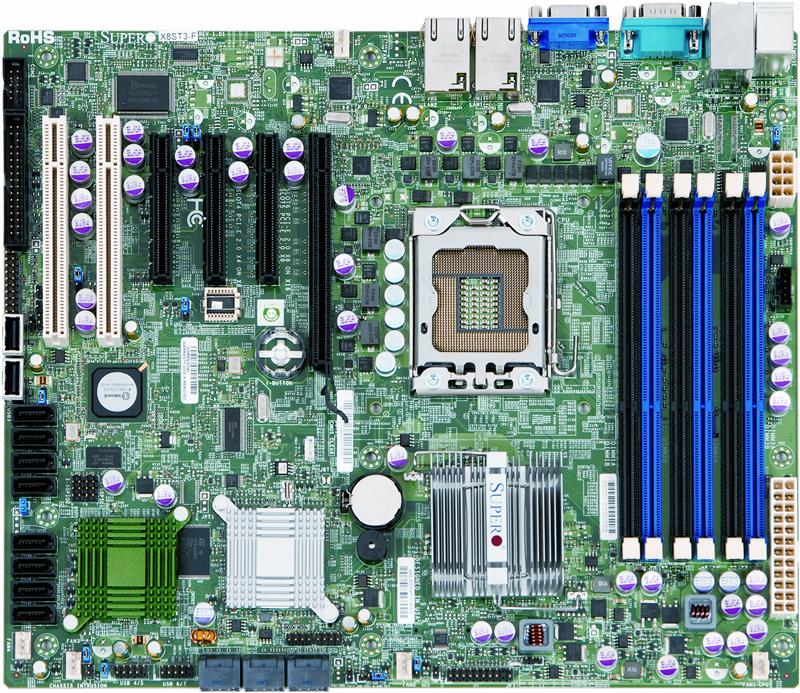 Supermicro X8ST3-F Server Motherboard - Intel X58 Express Chipset - Socket B LGA-1366 - Retail Pack