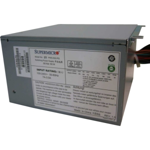 Supermicro PWS-502-PQ ATX12V & EPS12V Power Supply - 85.8%