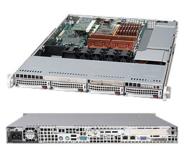 Supermicro SuperServer 6015B-TB (Black)
