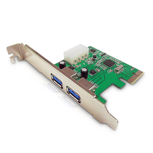 Dynamode USB-2PCI-3.0 2 Port USB 3.0 PCI Express Card