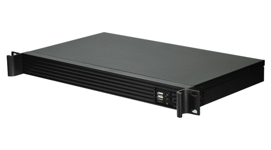 1U Short Depth Chassis Ideal for Wall Rack/Appliance Servers