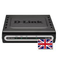 D-Link DSL-320B ADSL2+ Ethernet Modem (UK)