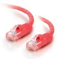 C2G 0.5m Cat5e 350MHz Snagless Patch Cable (Red)
