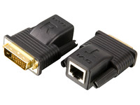 Mini Cat5 DVI Extender (20m  up to 15 m for 1080p;up to 15 m for 1600 x 1200; up to 20 m for 1080i) HDCP 1.1 compliant