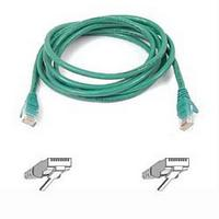 RJ45 CAT-5e Snagless Molded Patch Cable Green 5m (16.4ft)
