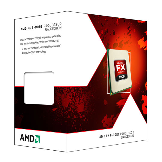 Amd Piledriver Fx-6350 Am3+ 125w 4.2ghz 14 Mb Cache 6 Cores Black Edition