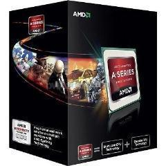 Amd A6 X2 6400k Fm2 65w 3.9ghz 4mb Cache 32nm Hd8470d Gfx Black Edition