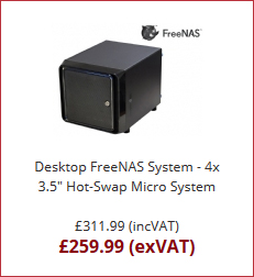 Mini FreeNAS Desktop System from Server Case UK - Server Case UK Blog
