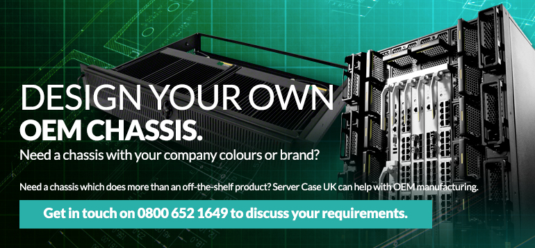 Design your own OEM Chassis with Server Case UK