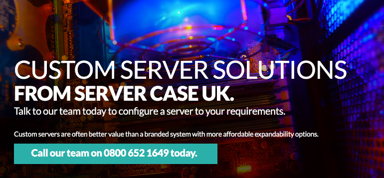 Custom Server Solutions from Server Case UK