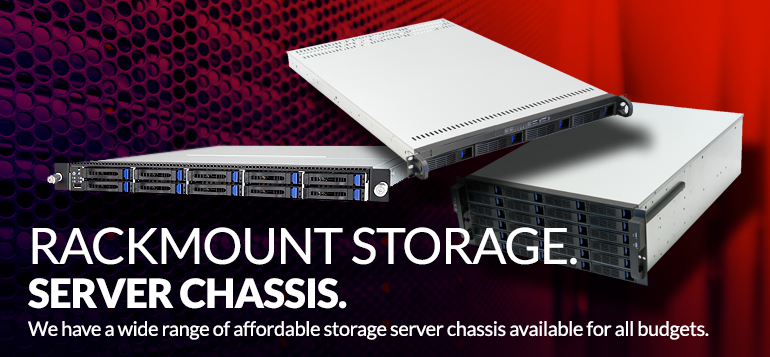 Rackmount Storage Server Chassis - JBOD, Hot-Swap, Tower and Rackmount